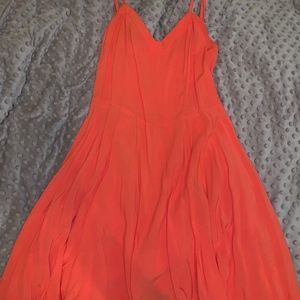 Bright Orange Aeropostale dress